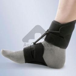 Apoio anti equino (tala pé pendente) para calçado sem atacadores