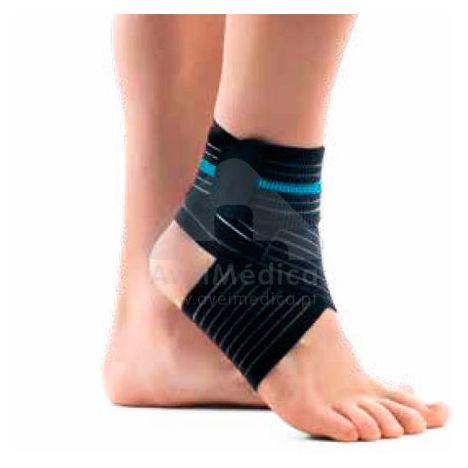 Suporte de tornozelo elástico com banda