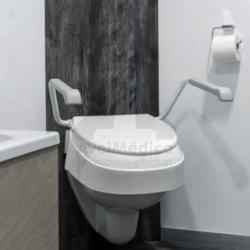 Aumento de sanita regulável em 3 alturas e inclinação