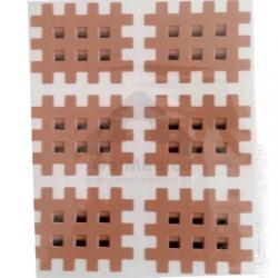Cross Tape 3x4cm(4mm) embalagem com 120 un