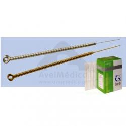 Agulhas esterilizadas para auriculopuntura - Caixa 100 unidades