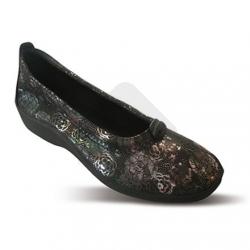 Sapato Estampado L14 Preto