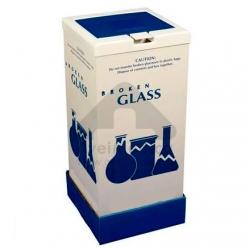 Caixa para estilhaços de vidro