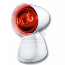 Candeeiro com lâmpada infravermelhos