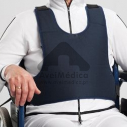 Colete dorsal para cadeira de rodas