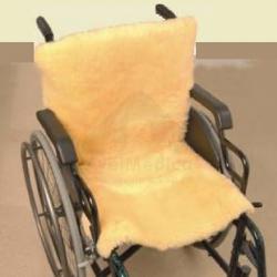 Assento e encosto pele natural para cadeiras de rodas