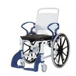 Cadeira rodas sanitária assento ferradura