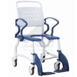Cadeira sanitária abertura ferradura