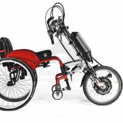 Cadeira Argon com acoplamento de handbike
