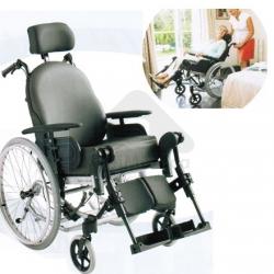 Cadeira de Rodas Basculante com apoio cabeça