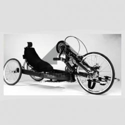 Cadeira de rodas para ciclismo