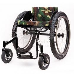 Cadeira de rodas Todo o terreno