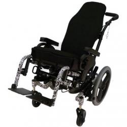 Cadeira de rodas elétrica infantil de multiposicionamento