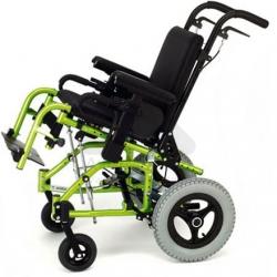 Cadeira de rodas infantil de encartar