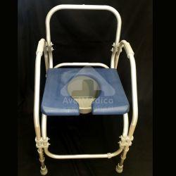 Cadeira Sanitária Aluminio