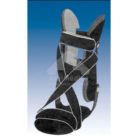 Ortótese tornozelo com kit pé pendente
