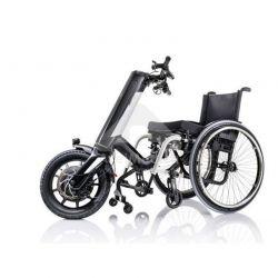 Assistente elétrico com roda para cadeira rodas