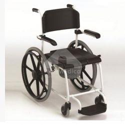 """Cadeira Banho e sanitária rodas 24"""""""
