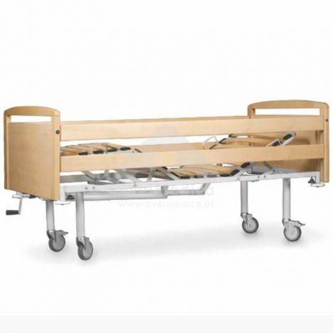 Cama hospitalar tripartida manual
