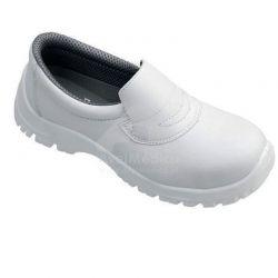 Sapato de protecção com biqueira de aço