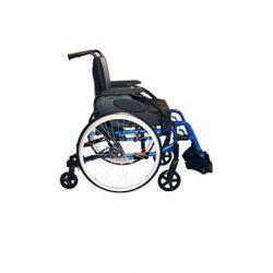 Cadeira em alumínio com 6 rodas