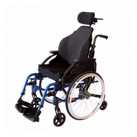 Cadeira rodas alumínio 6 rodas Pack conforto