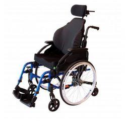 Cadeira liga leve 6 rodas conforto Encosto Matrx Elite