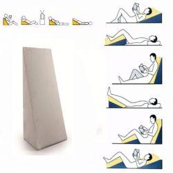Almofada de apoio triangular