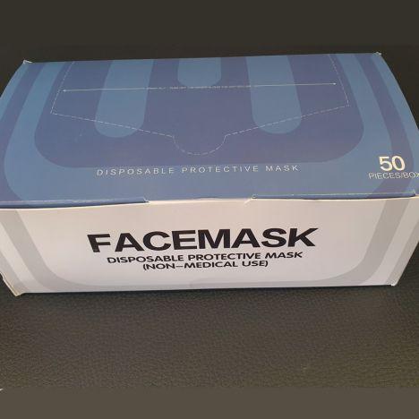 Máscaras cirúrgicas de uso não médico