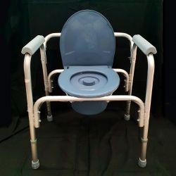 Cadeira sanitária e de duche sem rodas