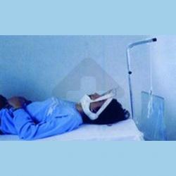 Aparelho de Reabilitação Tracção Cervical Cama