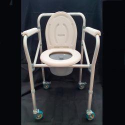 Cadeira Sanitária e duche com rodas