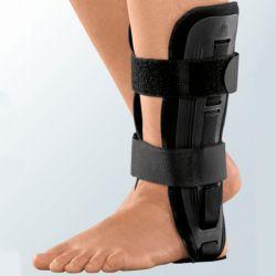 Ortótese tornozelo com ar com talas estabilização lateral