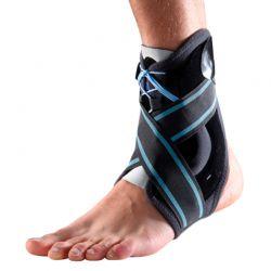 Ortótese estabilizadora do tornozelo com atacadores