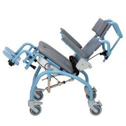 Cadeira banho / Sanitária pediátrica Aço inox