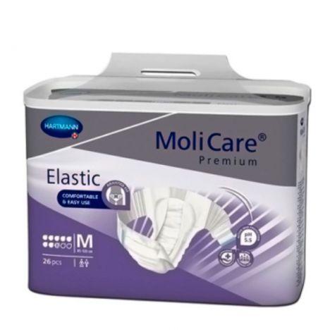 Fraldas incontinência Molicare Premium Elastic T. M