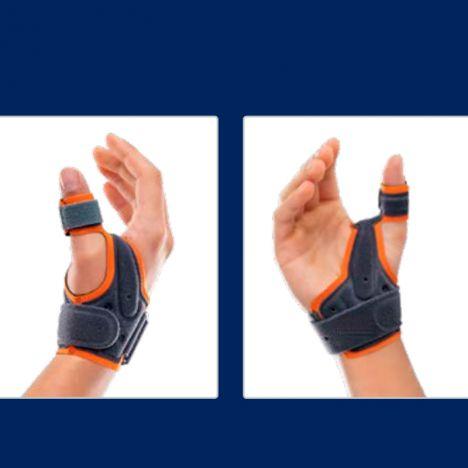 Ortótese imobilizadora de polegar em abdução