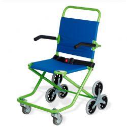 Cadeira de rodas para transporte em pequenos espaços
