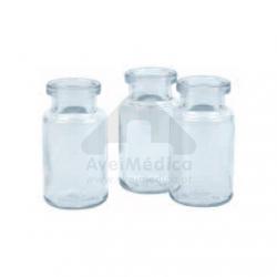 Frasco Reagente Branco Boca Larga 50ml