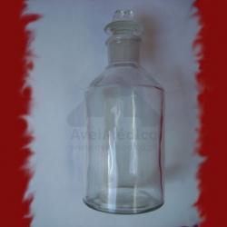 Frasco Reagente Branco Boca Estreita 50ml