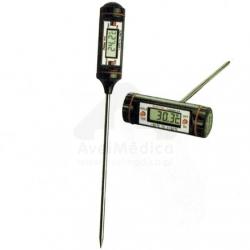 Termómetro digital com sonda