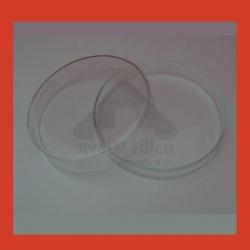 Caixa de Petri de Vidro com Tampa