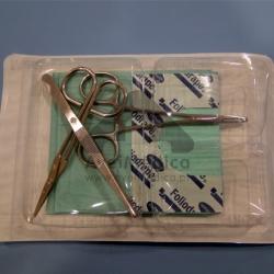 Kit de sutura esterilizado