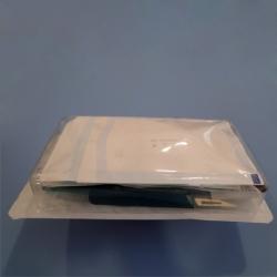Kit de sutura com seringa esterilizado