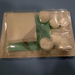 Kit de tratamento de feridas esterilizado