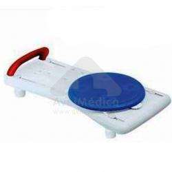 Tábua de banheira com disco giratório