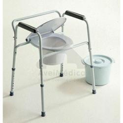 Cadeira de Toilette 3 em 1