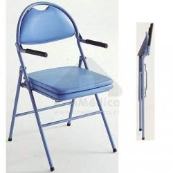 Cadeira de Toilete/Sanitária Omega Dobrável
