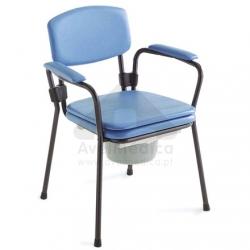 Cadeira de Toilette/Sanitária Omega Regulável em altura