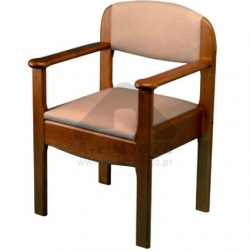 Cadeira sanitária de Madeira